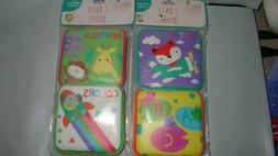 4- Bath Books Water Toy Baby Shower Gift Kids Educational Ba