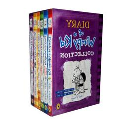 Diary of Wimpy Kid 6 Books Box Set Collection