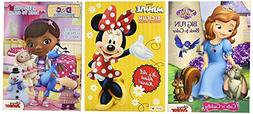 Disney Coloring and Activity Book Assortment - 3 Full-sized