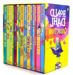 Roald Dahl Collection 15 Paperback Books Classic Kids Gift B