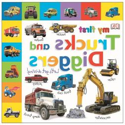 Tabbed Board Books: My First Trucks and Diggers: Let's Get D
