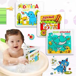 Little Bado Bath Books for Babies Toddlers Waterproof Bath B