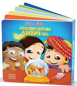 Beautiful Monuments Indian Culture Board Book for Kids
