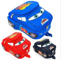 Cute Kindergarten Pupil Boys Baby Kids School Cars Book Bags