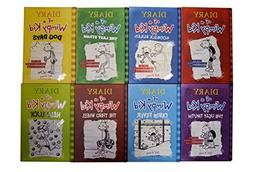 Diary of a Wimpy Kid HARDCOVER Set 1-8 by Jeff Kinney