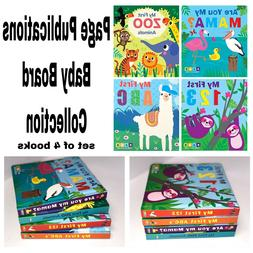 Early Learning Baby Board Book Collection Padded Books for T