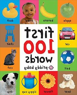 First 100 Words Board Book Learning For Baby Kids Bright Chi