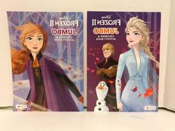 frozen 2 jumbo coloring and activity books