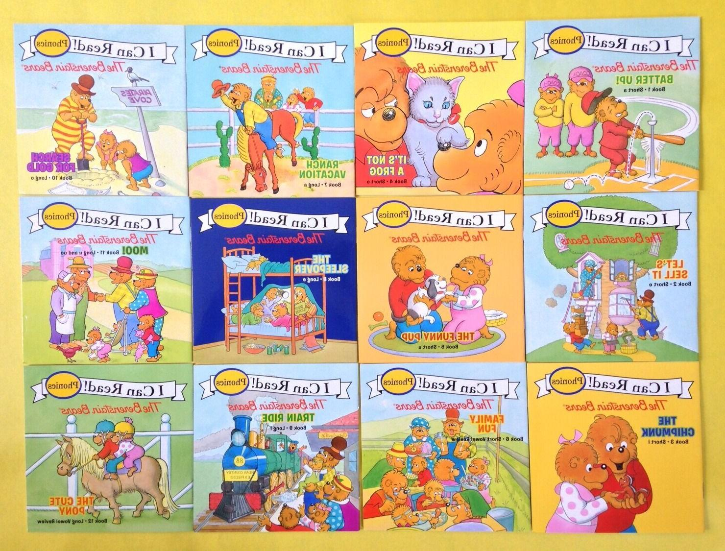 Berenstain Bears Phonics Childrens Books Learn to Read  Lot