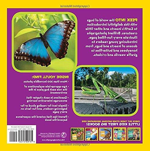National Geographic Little Kids First Book Bugs
