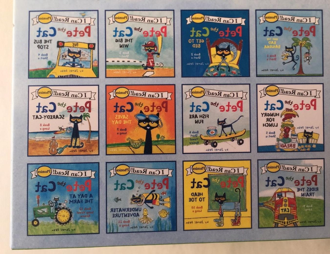 Pete the Cat Childrens Books I Can Read Phonics to Read Lot