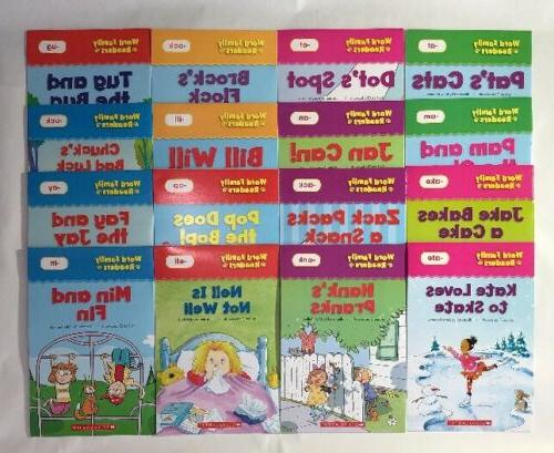 Word Family Readers Kids Books Phonics Lot 16
