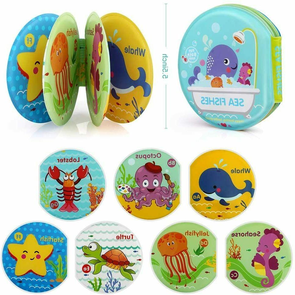 Baby Bath Toys Pack Books Toddlers Infants and