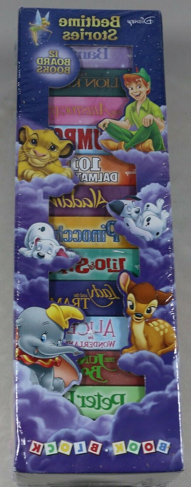 disney bedtime stories 12 board book block