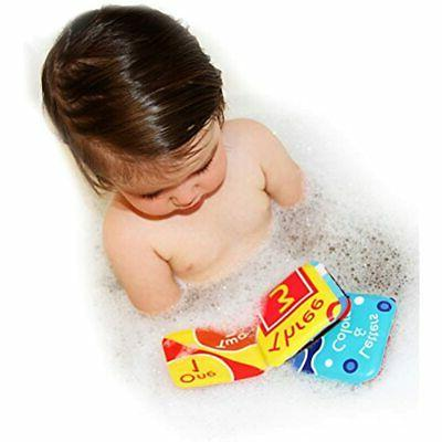 Floating Baby Books. Kids Learning Toys. Waterproof Bathtime For