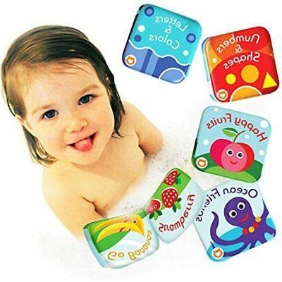 floating baby bath books kids learning toys