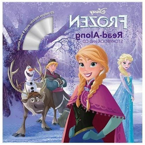 frozen read along storybook and audio cd