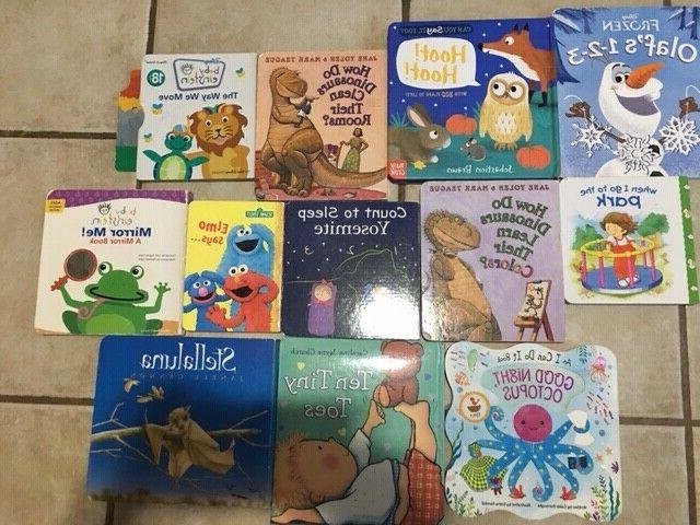 lot of 10 childrens board hardcover baby