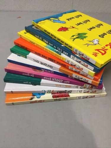 Lot 10 Dr. Books Hardcover