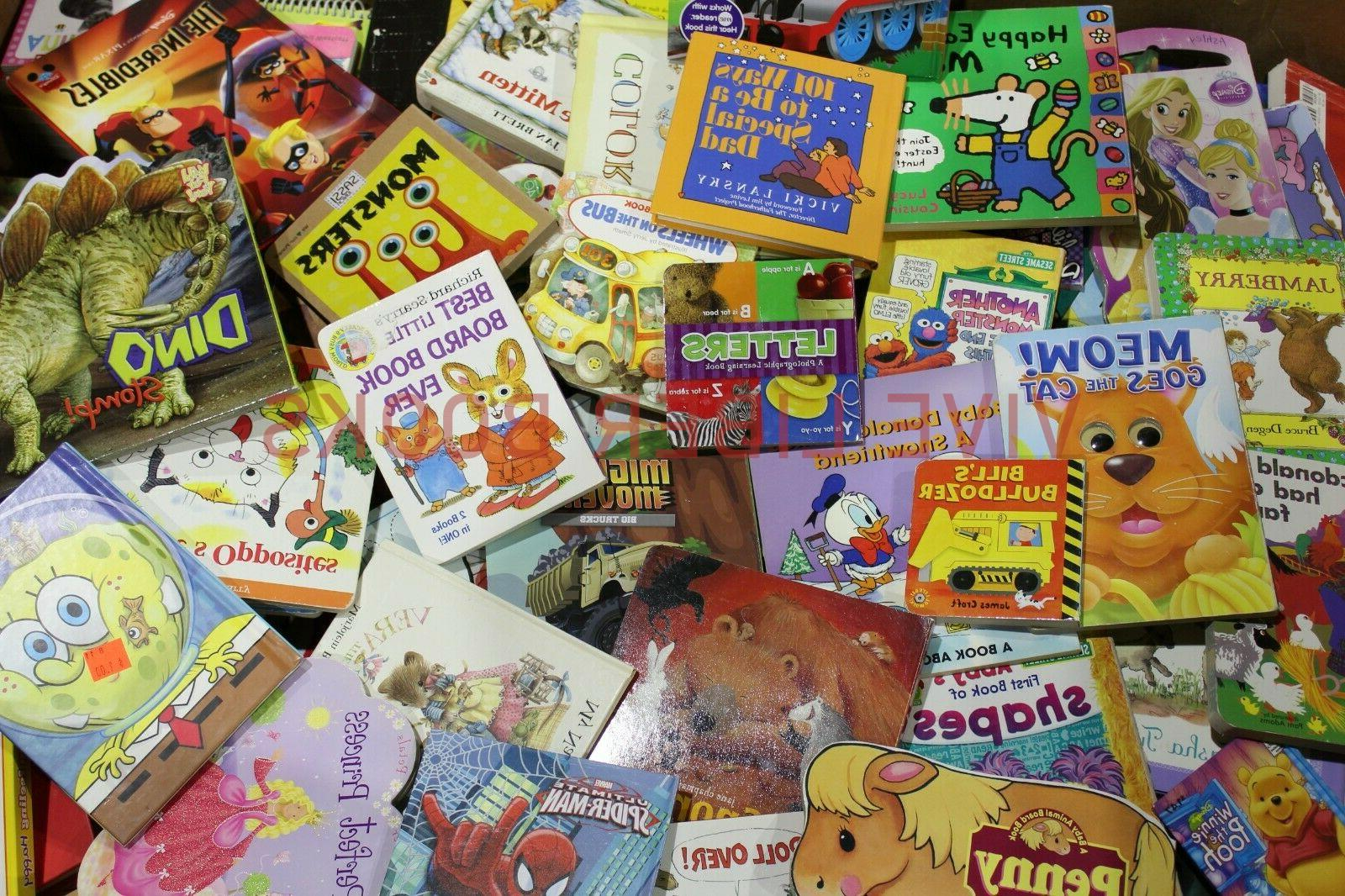 Lot of 20 Board Books for Kids/ Toddler Babies/