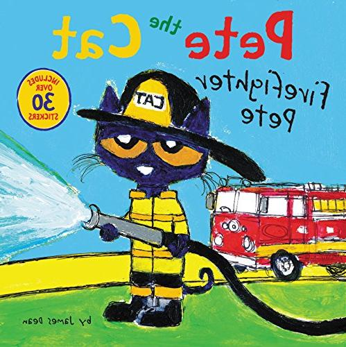 pete cat firefighter
