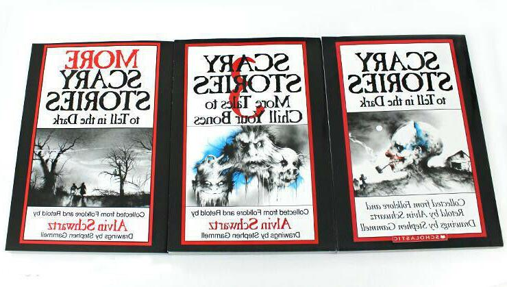 Scary Stories To Tell In The Dark Book Set Volume 1,2,3, Hal