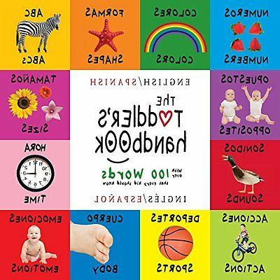 The Toddler's Handbook: Bilingual   Numbers, Colors, Sh