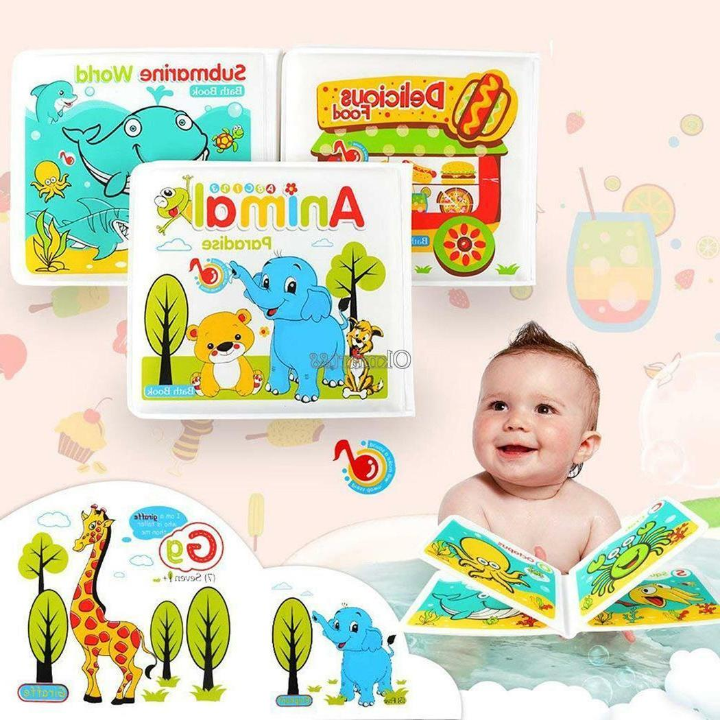 waterproof floating bath books for toddlers kids