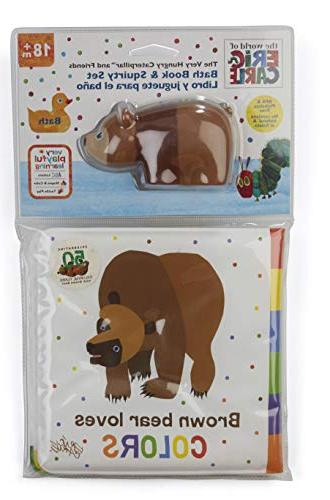 World of Eric Carle, The Very Bath Set Bear Book
