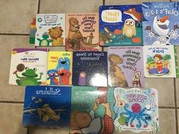 Lot of 10 Childrens BOARD Hardcover BABY TODDLER DAYCARE Kid