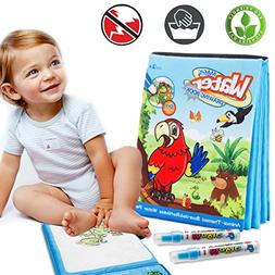 Magic Water Drawing Book Water Painting & Coloring Book With