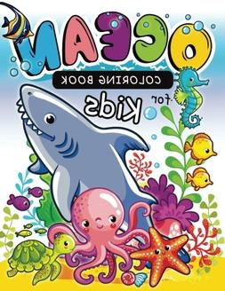 Ocean Coloring Books for kids: Coloring Book for Girls Doodl