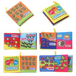 Soft Cloth Book Baby Kids Children Early Educational Cartoon