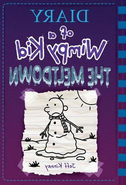The Meltdown Diary of a Wimpy Kid Book 13 Hardcover, 2018 by