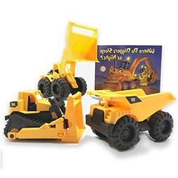 Growing Hero Toy State CAT Construction Trucks & Where Do Di