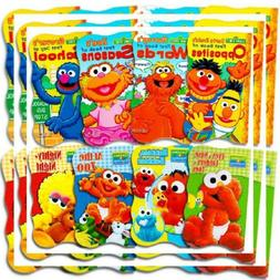 Sesame Street Ultimate Board Books Set For Kids Toddlers --