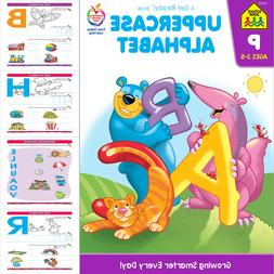 Uppercase Alphabet Workbook Kids Early Learning Letters Trac
